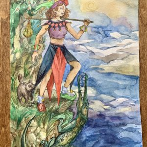 Major Arcana Print - The Fool | Ella Tarot