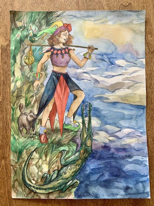 Major Arcana Print - The Fool | Ella Tarot